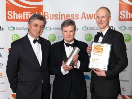 Tinsley Wins Sheffield Business Award