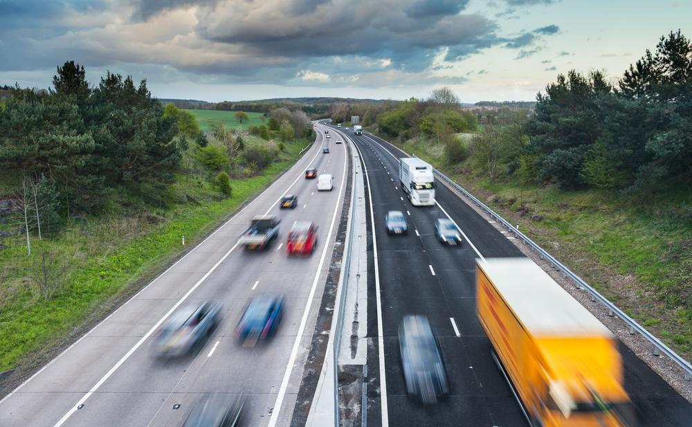 HGV Motorway Traffic