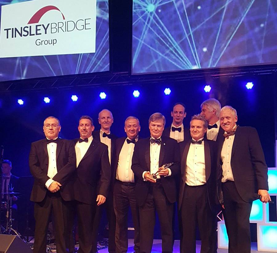 Tinsley Bridge wins Outstanding Business of the Year Award