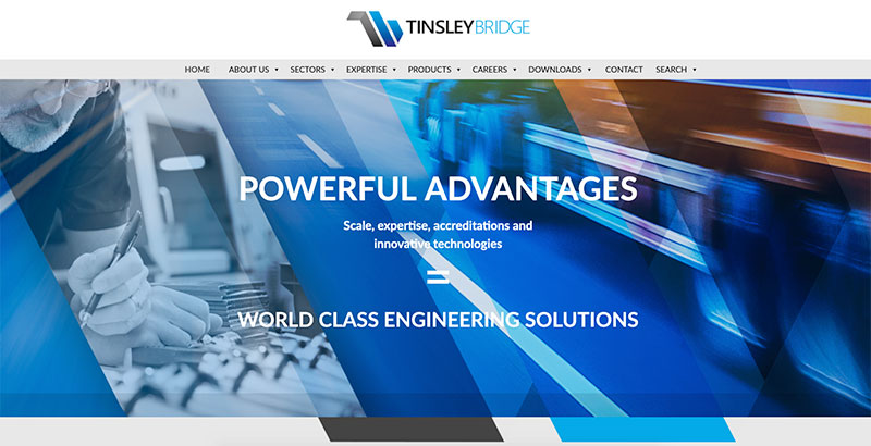 Tinsley Bridge launches new website