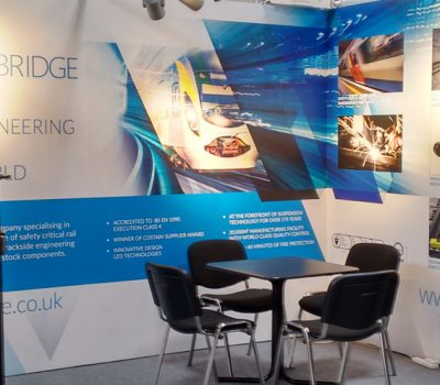 Tinsley Bridge stand at Railtex
