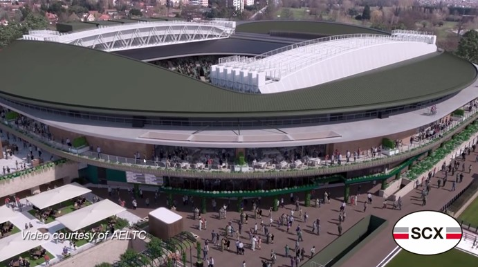Tinsley Bridge fabricate retractable roof components for Wimbledon No.1 Court