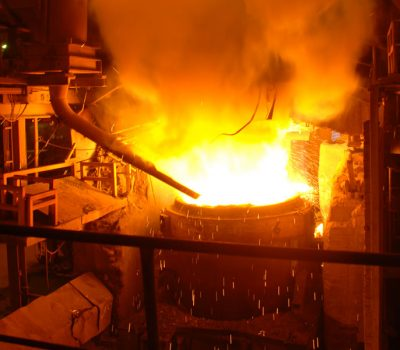 steel mill electric arc furnace