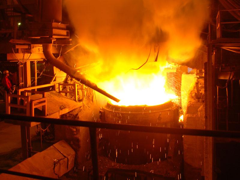 steel mill electric arc furnace