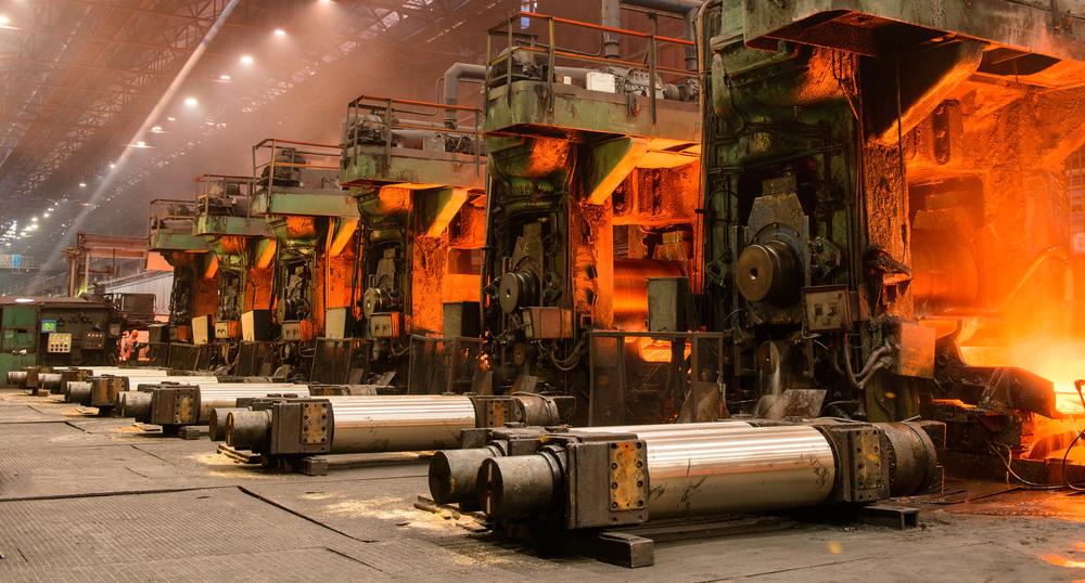 steel plant rolling mill
