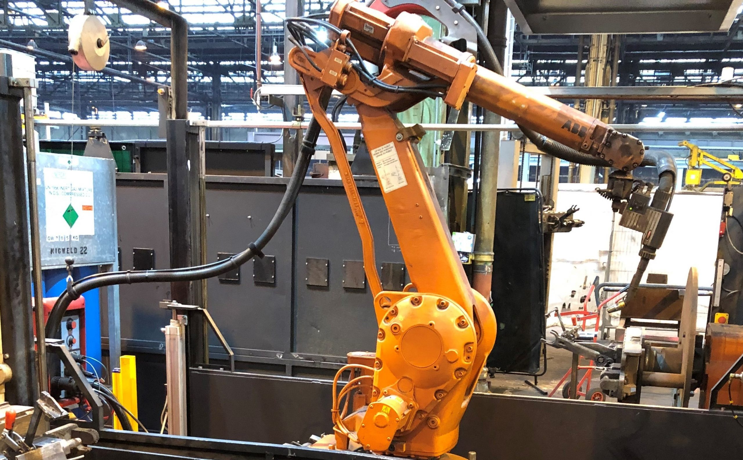 robot wled cell